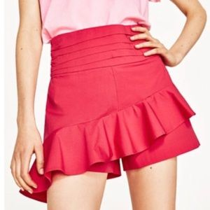 NWT Zara Basic Collections Skirt Shorts size S